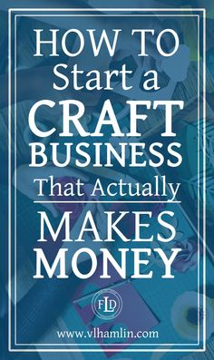 Ever wondered how to start a craft business? This post is for you – it's packed full of tips and tricks to help you start a craft business today! Do you love to make crafts? Etsy Business, Craft Business, Home Based Business, Online Business, Creative Business, Starting A Business, Business Planning, Business Tips, Home Business Ideas