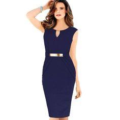 Женщины свободного покроя bodycon ну вечеринку платье офис платье карандаша носить на работу vestido феста халат Большой размер