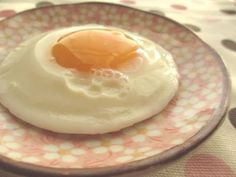 Great recipe for Fried Egg For One (Made in a Microwave with No Oil). This is a convenient way of preparing a sunny-side-up if you're just planning on having one by yourself. The cooking time will vary according to the size of the dish, temperature of the eggs, and the strength of your microwave. I use a 500W microwave, and eggs straight from the fridge. (Recipe by doiko)