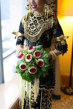 Pernikahan Dengan Perpaduan Adat Banjar dan Minang ala Keisha dan Zulmi -