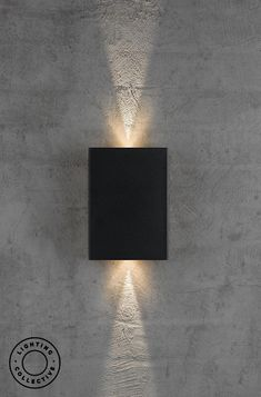 Black Modern Decorative Up & Down LED Wall Light This stunning modern decorative up & down LED wall light features a series of adjustable illumination patterns creating a range of lighting effects and great aesthetics. Porch Lighting, Home Lighting, Outdoor Lighting, Modern Outdoor Lights, Modern Wall Lights, Lighting Ideas, Modern Exterior Lighting, Exterior Wall Light, Modern Lighting Design