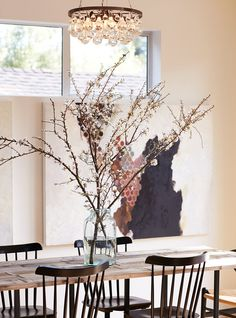 Fabulous rustic-modern Mill Valley bungalow designed by Allison Bloom of Dehn Bloom design - beautifully done