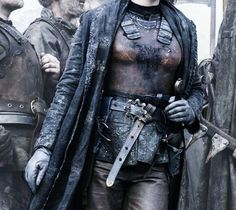 Season 4 Rich with Leather Costumes ... Leather Armor