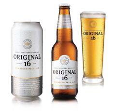 Original 16 Beer Packaging