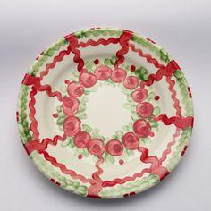 vanesa Decorative Plates, Tableware, Design, Home Decor, Red, Green, Tablewares, Dinnerware, Decoration Home
