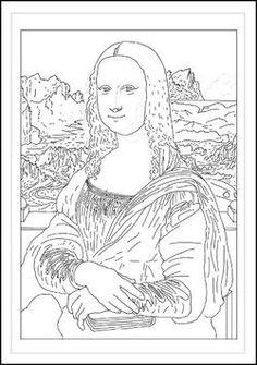 43 Meilleures Images Du Tableau Monalisa Art For Kids Art For