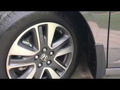 2011 2017 Honda Odyssey Splash Guard Install Diy