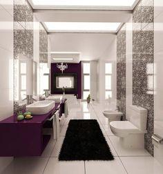 Fliesenfarben Ideen Tolle Varianten F R Die Badeinrichtung Badezimmer  Fliesen Grau, Weiße Badezimmer, Bad Einrichten