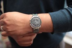 Speedmaster Professional, Cool Watches, Watches For Men, Omega Speedmaster Moonwatch, Moon Watch, Vintage Rolex, Beautiful Watches, Michael Kors Watch, Chronograph