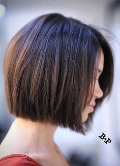 #Farbbberatung #Stilberatung #Farbenreich mit www.farben-reich.com Short Hairstyles for Women: Classic Bob