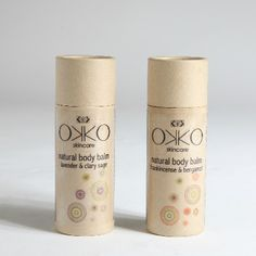 Okko - Skincare have crafted subtle blends of natural oils into solid moisturiser balms which push straight out of a stylish eco-cardboard cylinder. Great for on the go or at home!    http://www.okkoskincare.com/