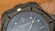Victorinox Swiss Army INOX Professional Diver Titanium Watches Hands-On Titanium Watches, Victorinox Swiss Army, Luxury Watches For Men, Hands, Tag Heuer, Men's Watches, Sport Watches, Sports, Diving Watch