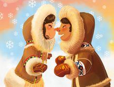 ArtStation - eskimo kisses, Aleksander Jasiński