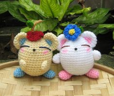 Flowers For You Amigurumi Pattern