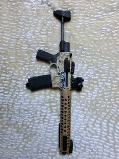 I did a paintjob. Airsoft Gear, Guns, Pictures, Weapons Guns, Revolvers, Weapons, Rifles, Firearms