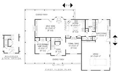 House Plan chp-26524 at COOLhouseplans.com.  I would make sure there was more space between the master and the other bedrooms.