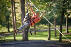 "Zip Line Canopy Tours at Refreshing Mountain  • Looking for high adventure? Take a ride on one of our Canopy Tours! Guides will accompany you as you ""fly"" through the trees and enjoy a ""bird's eye"" view of the beautiful woodscape."