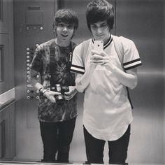 My two favorite people!  Christian Novelli and Damon Fizzy