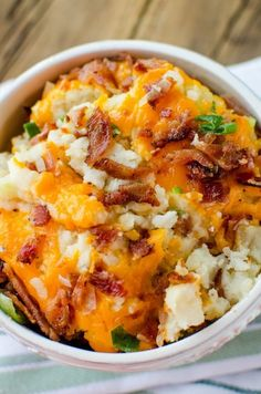 Loaded Crock Pot Mashed Potatoes Recipe! – Tammilee Tips