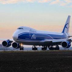 Air Bridge Cargo (Volga-Dnepr Cargo subsidiary: all Boeing 747 fleet division, Russia) Boeing 747-8F
