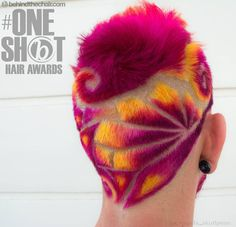 with Backview hair design for the Entry for the . This all happened at salon and this model is legend check out his amazing rainbow hairworks ! Creative Hairstyles, Cool Hairstyles, Undercut Hairstyles, Shave Designs, Hair Tattoo Designs, Haircut Designs, Undercut Designs, Shaved Hair Designs, Dying Your Hair