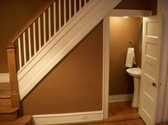 Can I Fit A Tiny Shower Under The Stairs Google Search Ohio Basement Pinterest Google