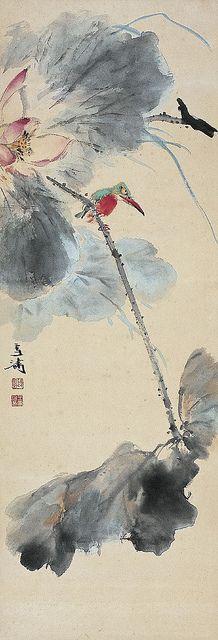 Painted by Wang Xuetao (王雪濤, 1903-1982)