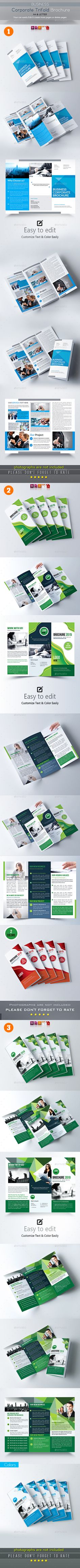 Travel Holiday Trifold Brochure  Brochures Brochure Template And