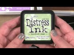 All About Stamping - Inks Difference Between Dye, Pigment, Chalk, E. Stamping Up, Rubber Stamping, Card Tutorials, Video Tutorials, Ink Stamps, Card Making Techniques, Ink Pads, Distress Ink, Copics