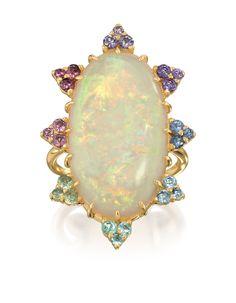 Rosamaria G Frangini | High White Jewellery | Taormina Ring,  Underwater Amsterdam Sauer Collection by Bianca Brandolini