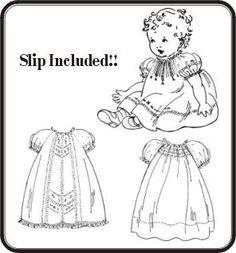 Baby Rose Raglan Dresses Pattern
