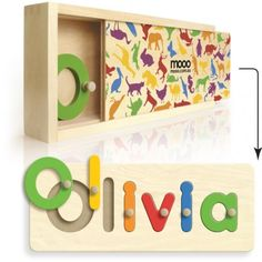 custom name puzzles