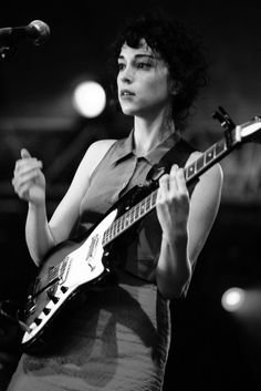 Annie Clark (St. Vincent)...making me rethink my orientation on the daily.