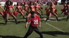 Kid dances with Tampa Bay Buccaneers Cheerleaders - Gangnam Style 11/25, via YouTube.