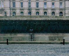 Liu Bolin y su obra 'Monumentos' (2008).