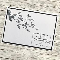Trauerkarte Briefumschlag Beschriftung
