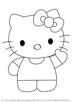 How to draw Hello Kitty - DrawingTutorials1... - #draw #DrawingTutorials1 #Kitty - #Draw