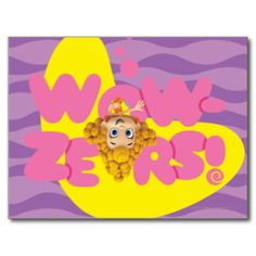 Wowzers! Postcard | Nickelodeon Bubble Guppies Tshirts and Gifts