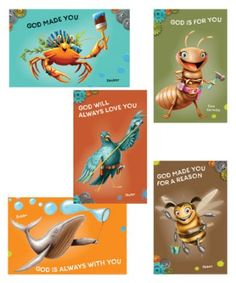 Maker Fun Factory VBS: Bible Point Posters, 6 pk