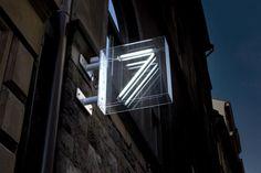 Svartensgatan 7 signage designed by BergerBerger.