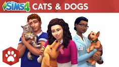 The Sims 4 Cats & Dogs: Official Reveal Trailer - YouTube