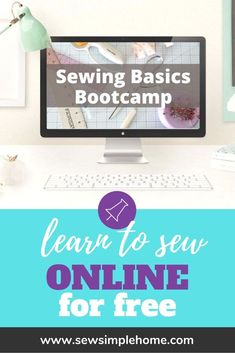 Pull that sewing machine out of the box and learn to sew today with this free sewing course. Learn about your machine, how to understand patterns and fabric. Plus get free beginner sewing projects and tutorials. First Sewing Projects, Sewing Machine Projects, Sewing Projects For Beginners, Projects For Kids, Beginner Sewing Patterns, Sewing Basics, Sewing Hacks, Sewing Tips, Sewing For Kids