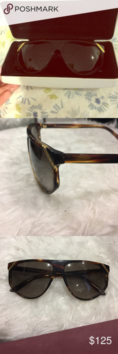 7196fbdbf15 Shop Women s Versace size OS Sunglasses at a discounted price at Poshmark.  Description  Lightly used Versace sunglasses no scratches with warranty.
