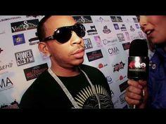 Melissa Evans from Elite TV interviews Atlanta rapr star Ludacris at the Los Angeles Convention Center for Hip Hop 101 Fest.