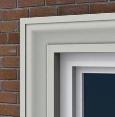 Door & Window Trim MX105 by Mouldex Mouldings - $40.80 CAD per 8' length