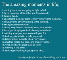 amazing moments