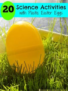 Are you looking for science ideas to do around Easter? Or are you looking for ways to use your plastic Easter eggs? Try these science activities with plastic Easter eggs! Easter Activities For Kids, Spring Activities, Easter Crafts For Kids, Easter Ideas, Steam Activities, Educational Activities, Easter Projects, Fun Crafts, Diy Projects