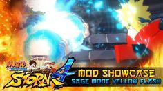 nice Sage Method Yellow Flash Minato!!! Naruto Shippuden Ultimate Ninja Storm 4 Mods w/ ShinoBeenTrill