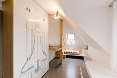 Dětský pokoj v leteckém stylu, Archonaut, Foto: © Pavel Tománek