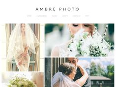 Ambre Photo - WordPress Theme by ambre themes on @creativemarket